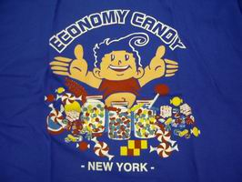 Economy Candy blue T-shirt